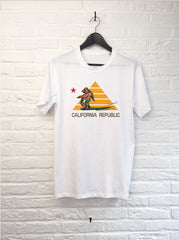 Ours Surf Pyramide-T shirt-Atelier Amelot