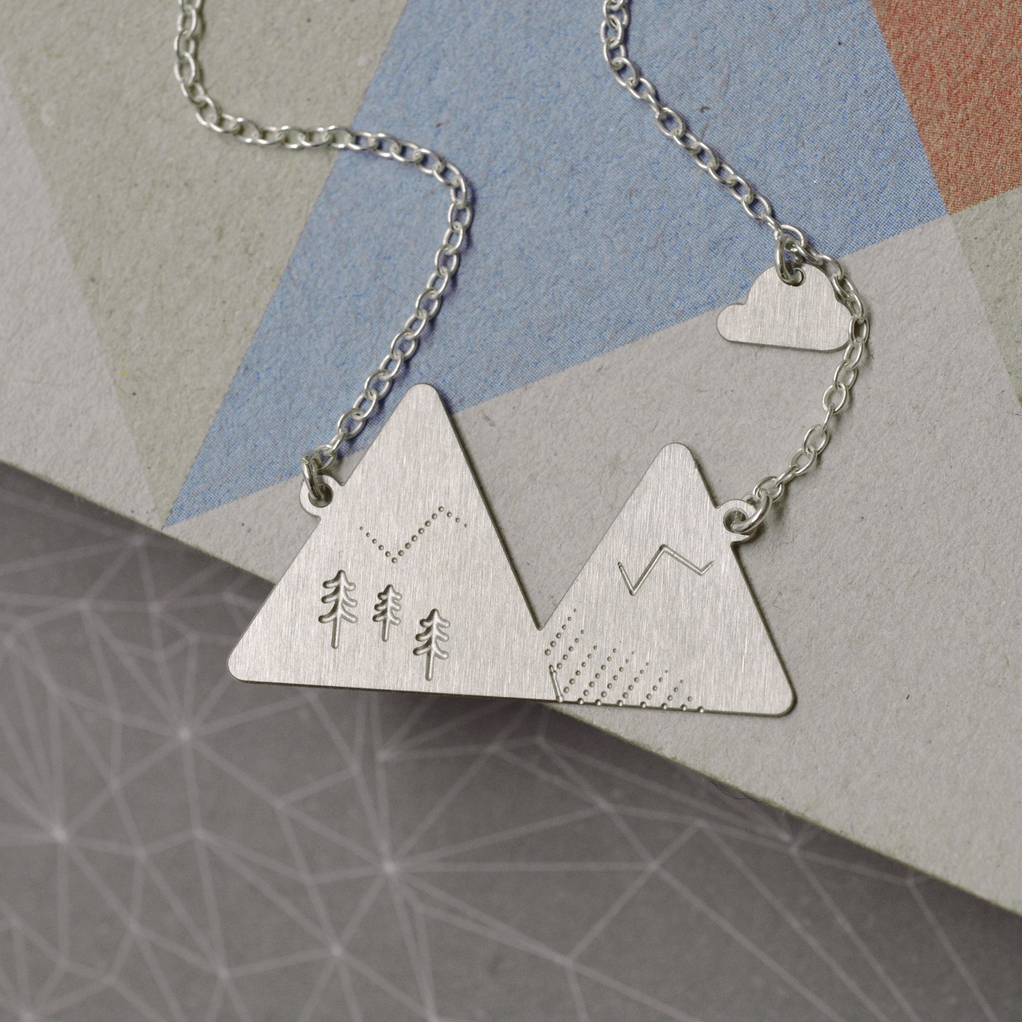 Alps necklace - steel