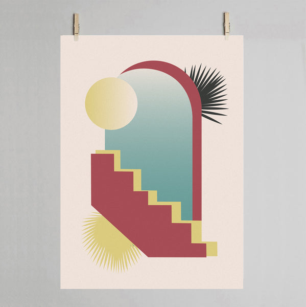 Aveiro art print on peg