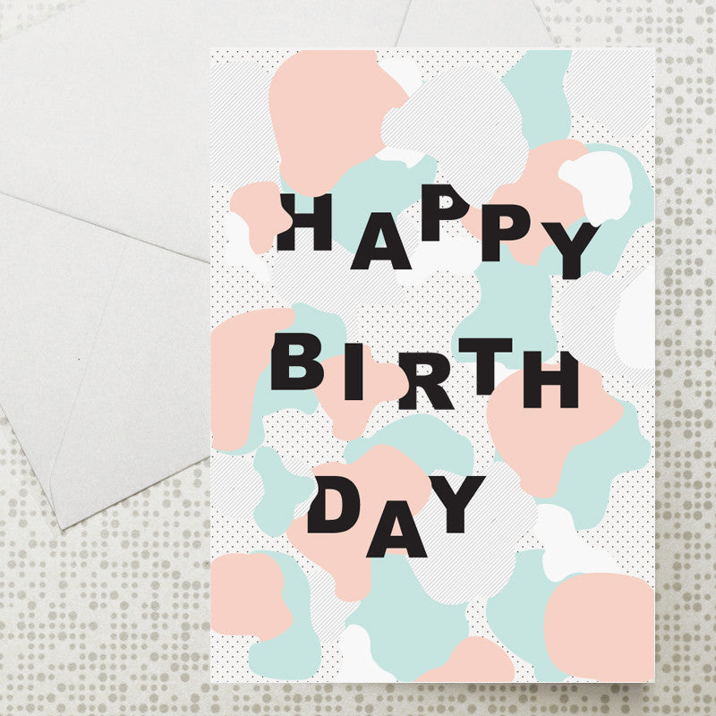 Cloud Birthday card