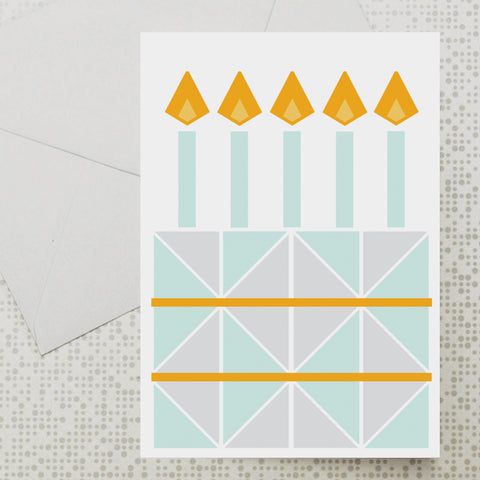 Cake & Candles card