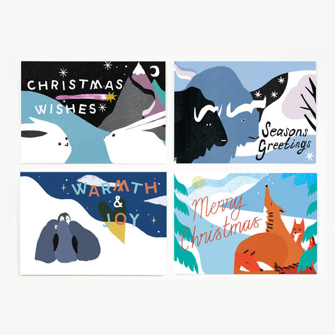 Christmas Wishes card pack