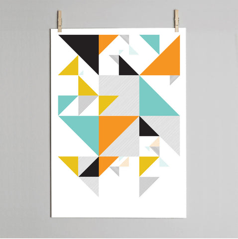 Polygon detail print