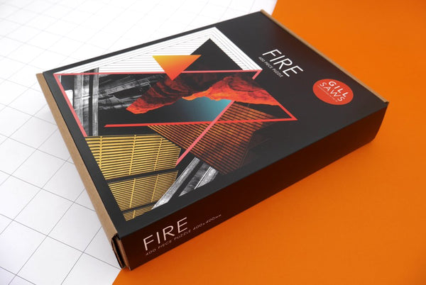 Fire- Handcrafted Jigsaw puzzle