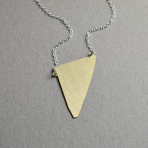 Fragment abstract necklace