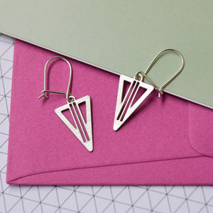 Gezi Earrings on Pink