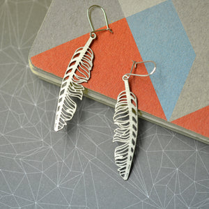 Hanne Feather Earring
