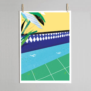 Cool Pool print pegs