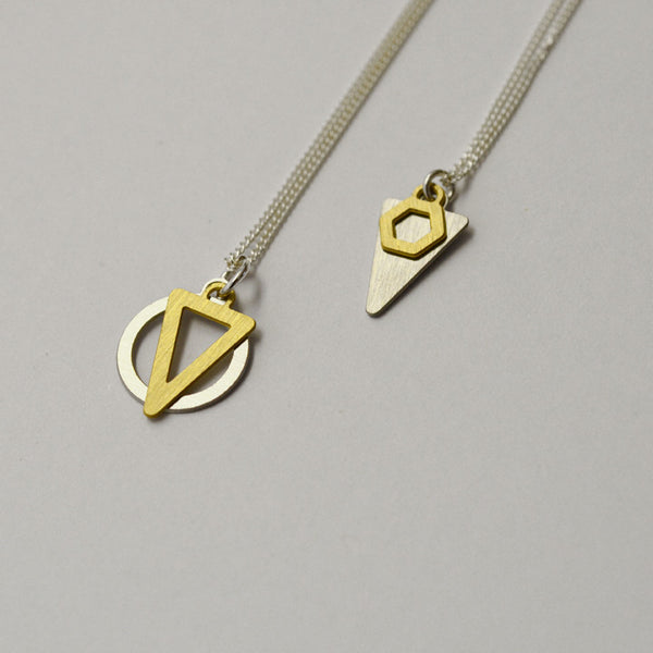K2 and K1 necklace