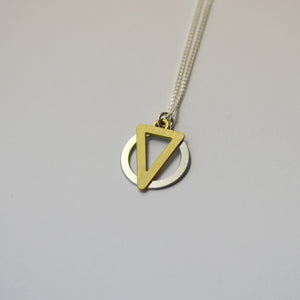 K1 necklace on grey