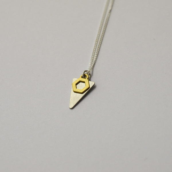 K2 necklace on grey