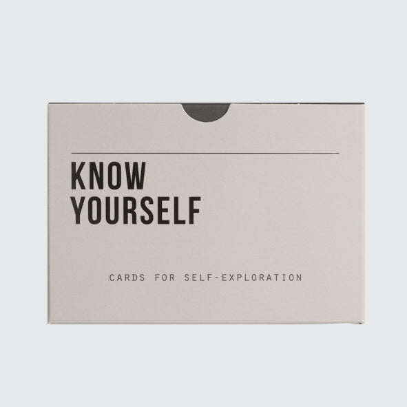 Know Yourself prompt cards front