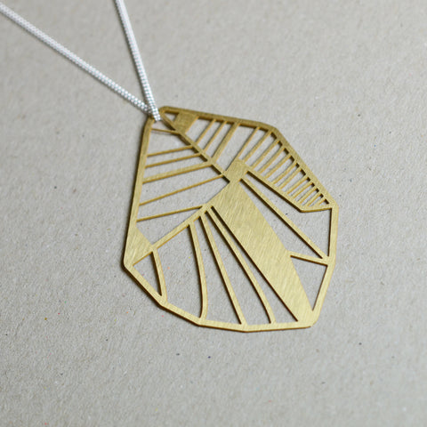 Folio: Abstract Botanical Necklace