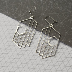 Plan earrings