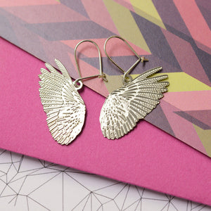 Plume Feather Earrings