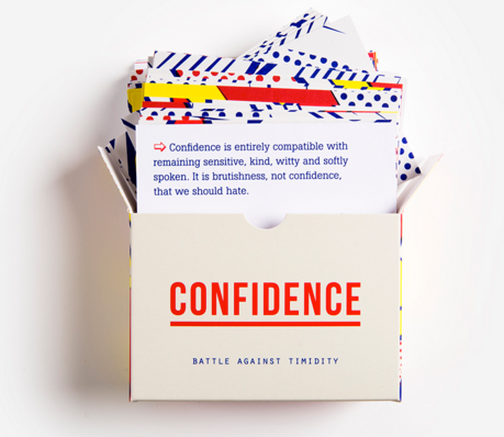 Confidence prompt cards set