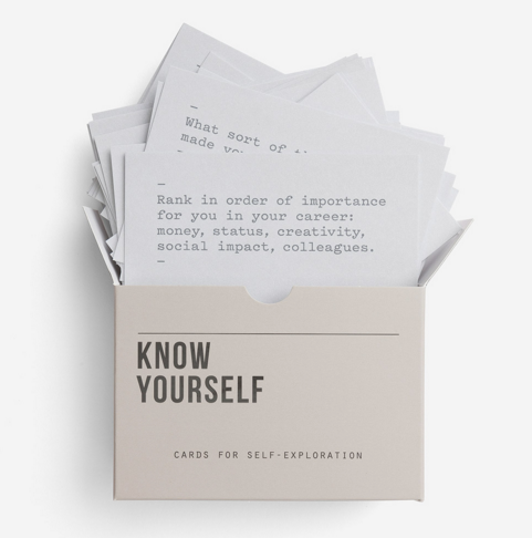 Know Yourself prompt cards set