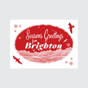 Seasons Greetings from Brighton Christmas Card