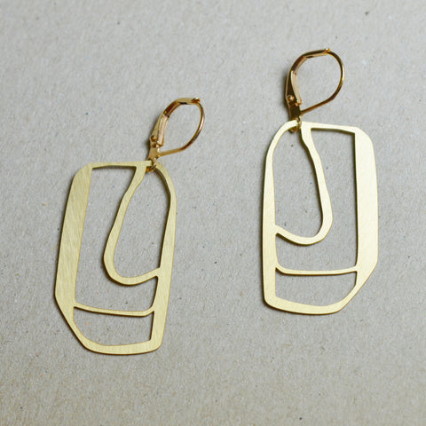 Skitse: Abstract sketch earrings