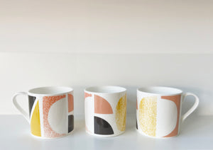 Sunrise fine bone china mug