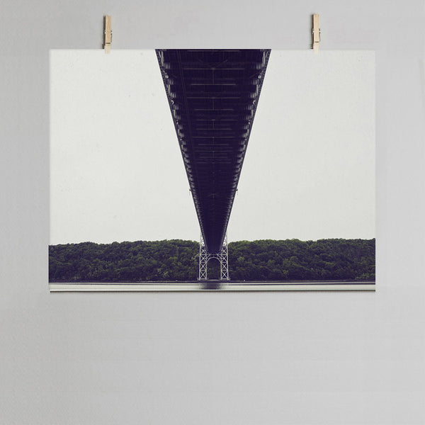 Bridge photographic print