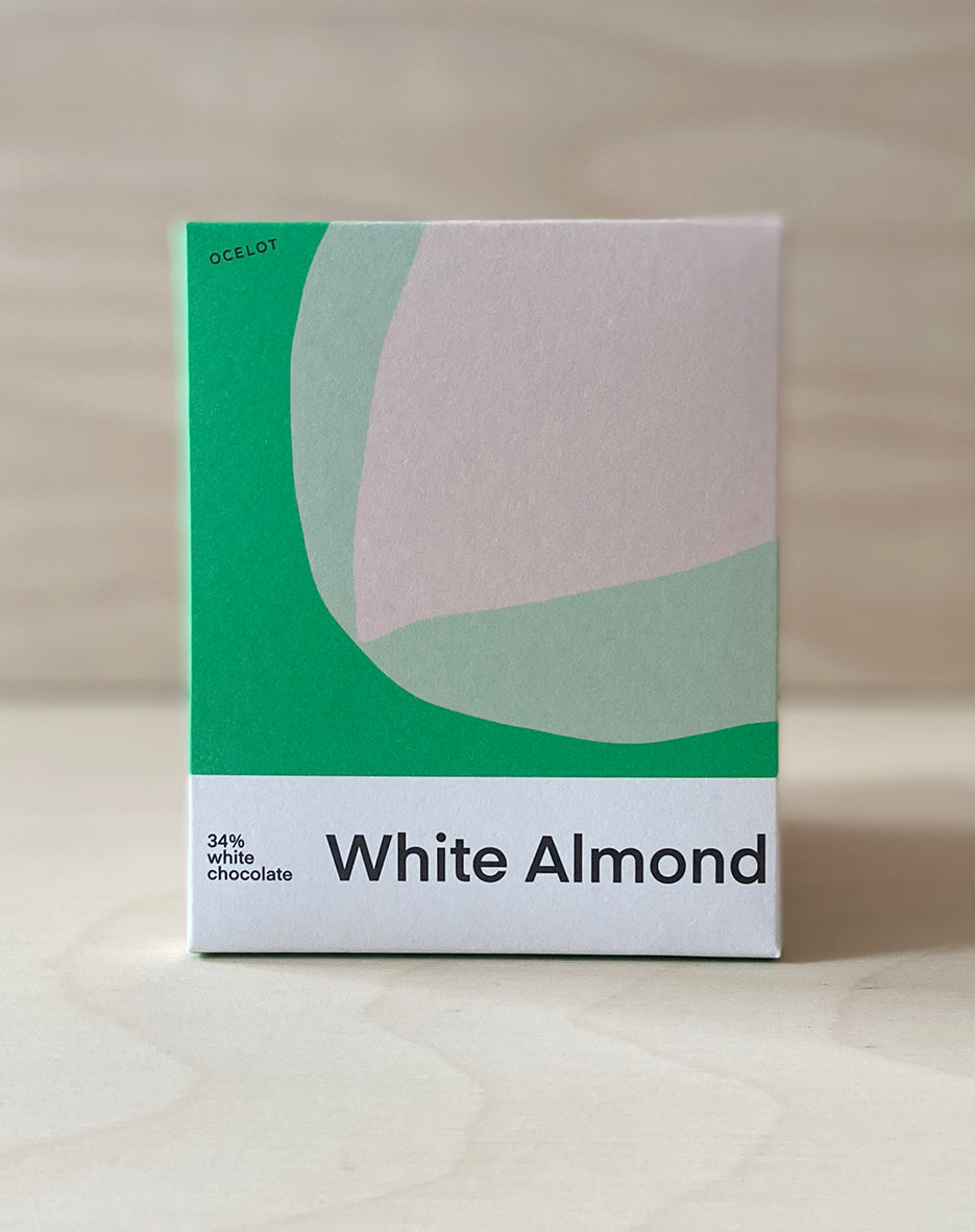 White Almond artisan chocolate