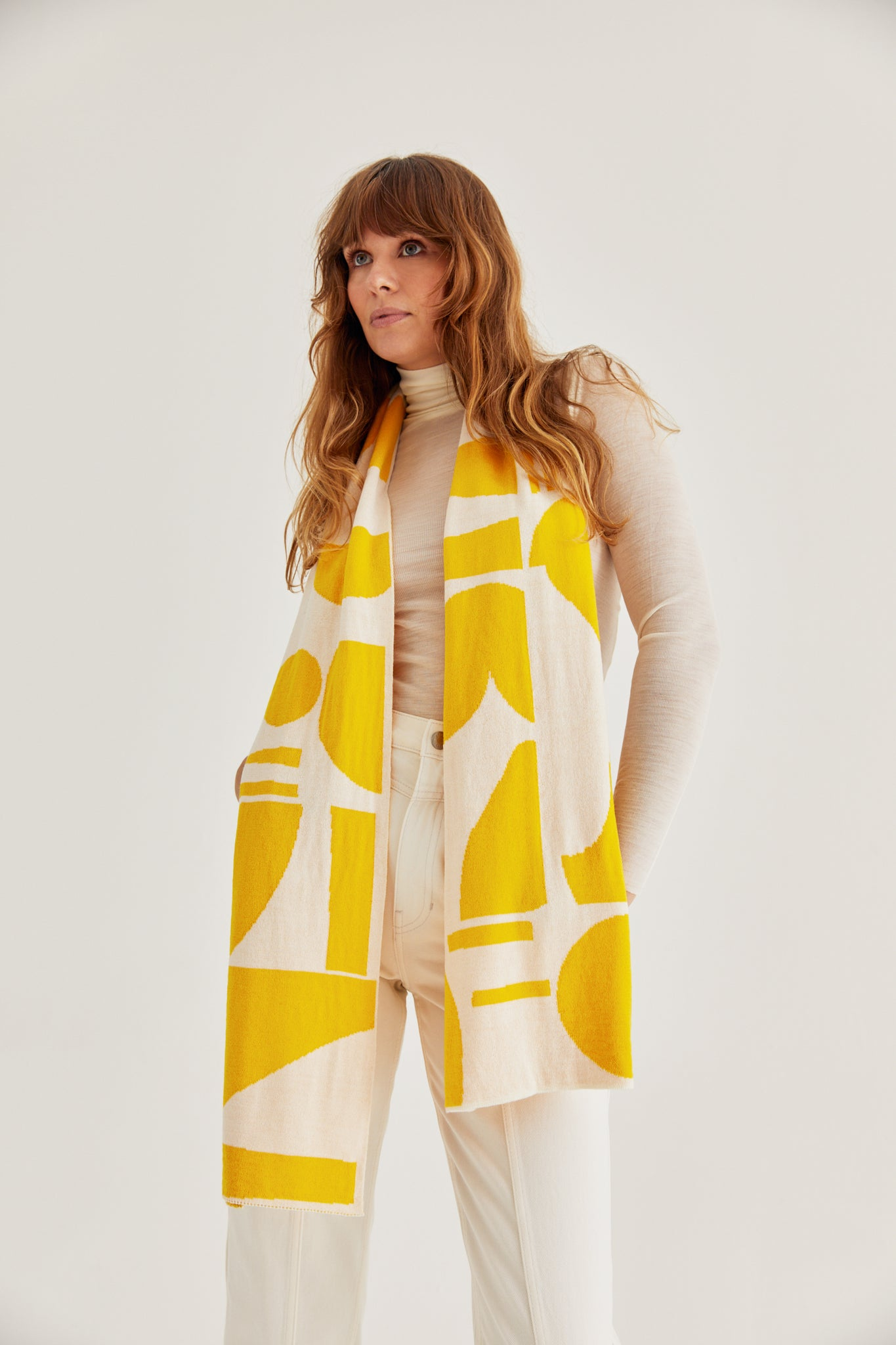 Andre Scarf Yellow