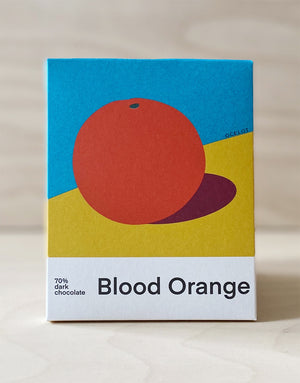 Blood Orange artisan chocolate