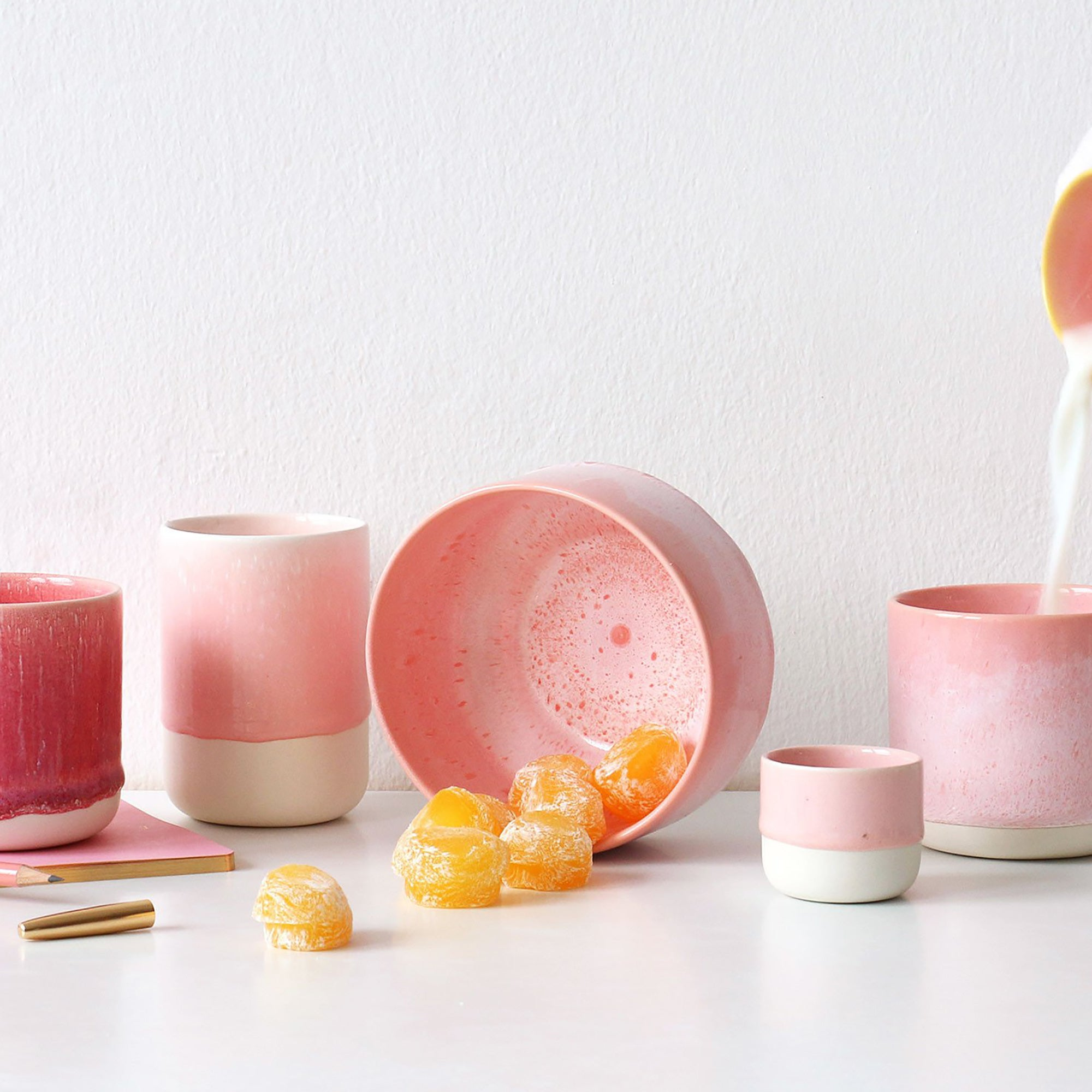 Sukari large handwoven basket.