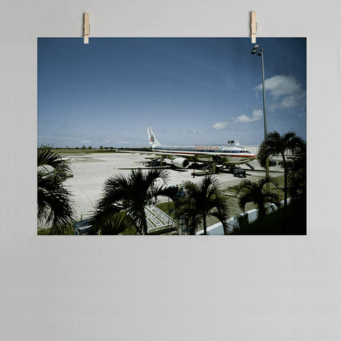 Departures photographic print