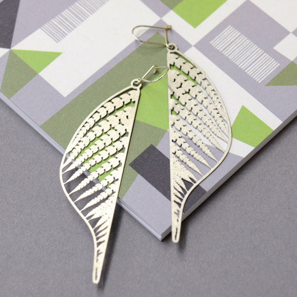 Mille Steel Earrings