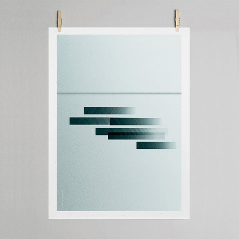 On the move- Land print