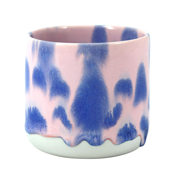 Quench cup pink and blue