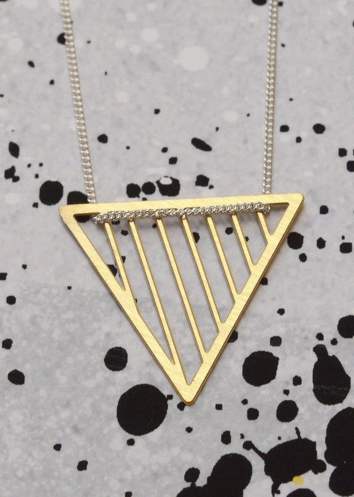 Triangle shard necklace