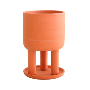 Tri Pot terracotta planter - small