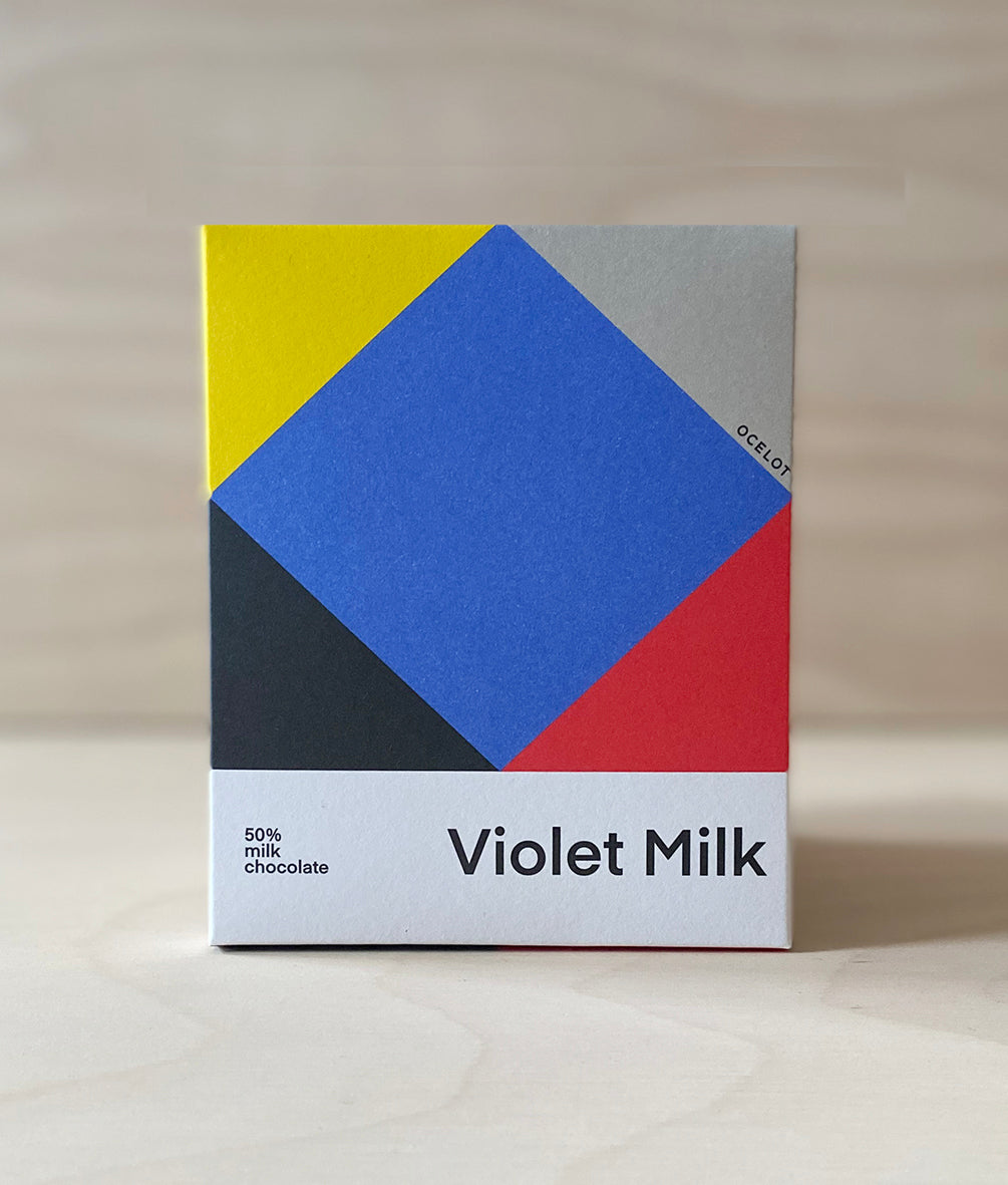 Violet Milk artisan chocolate