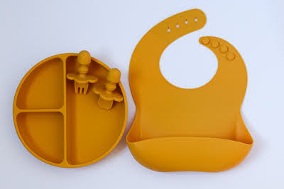 Mustard Yellow Mealtime Gift Set - Simply Toofers