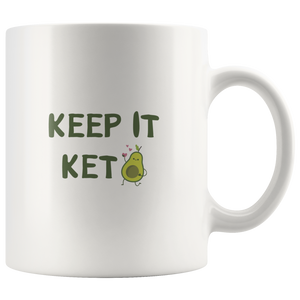 Keep It Keto - White 11oz Keto Mug