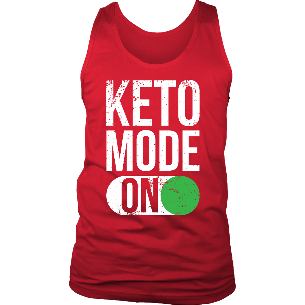 Keto Mode ON - Mens Tank