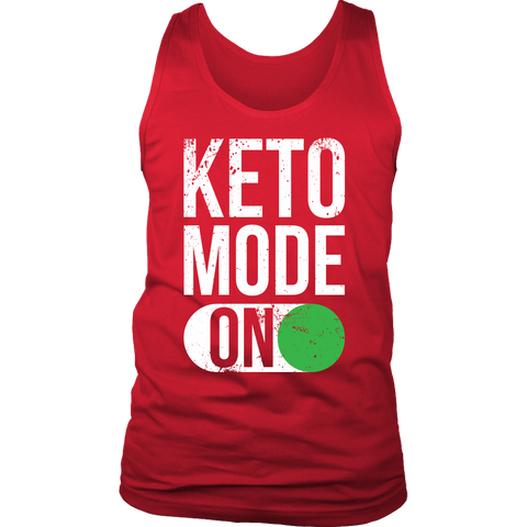 Image of Keto Mode ON - Mens Tank