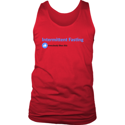 Image of Intermittent Fasting Everyone Likes This - Mens Tank