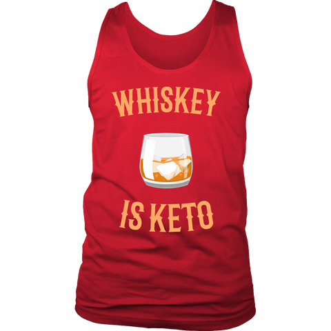 Image of Whiskey Is Keto - Mens Tank