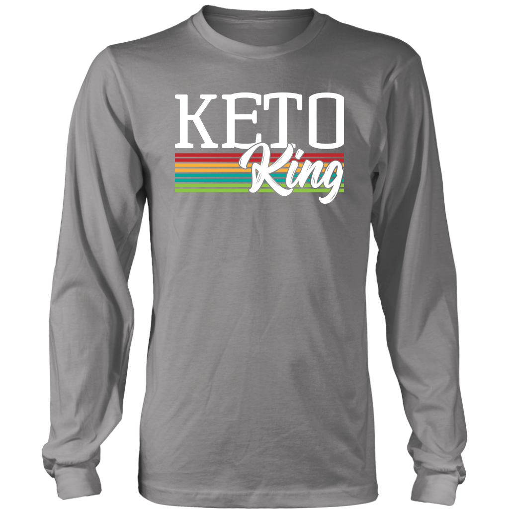 Keto King - Long Sleeve Shirt