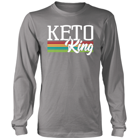 Image of Keto King - Long Sleeve Shirt
