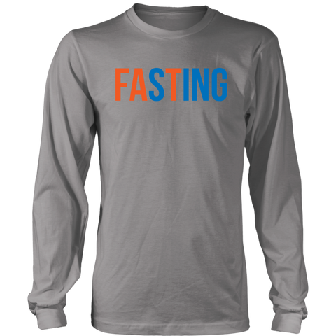 Image of Fasting - Long Sleeve Shirt
