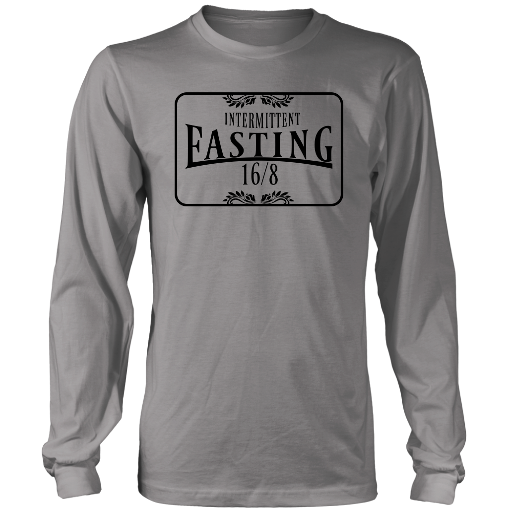 Intermittent Fasting 16/8 - Long Sleeve Shirt