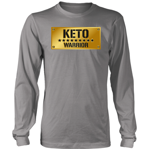 Keto Warrior - Long Sleeve Shirt