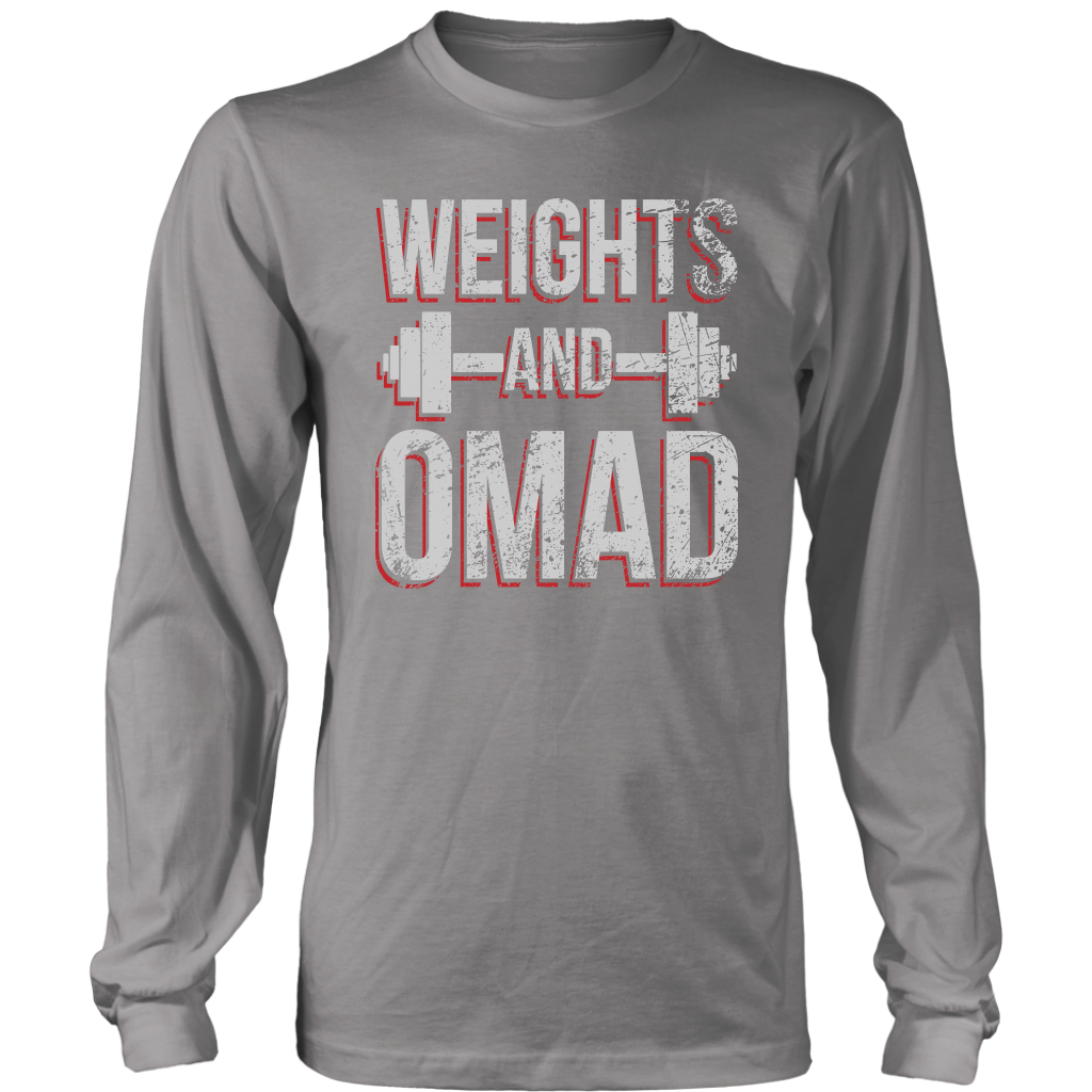 Weights And OMAD - Long Sleeve Shirt