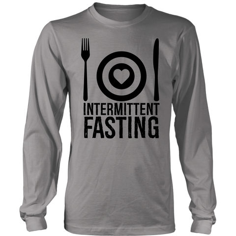 Intermittent Fasting Dish - Long Sleeve Shirt