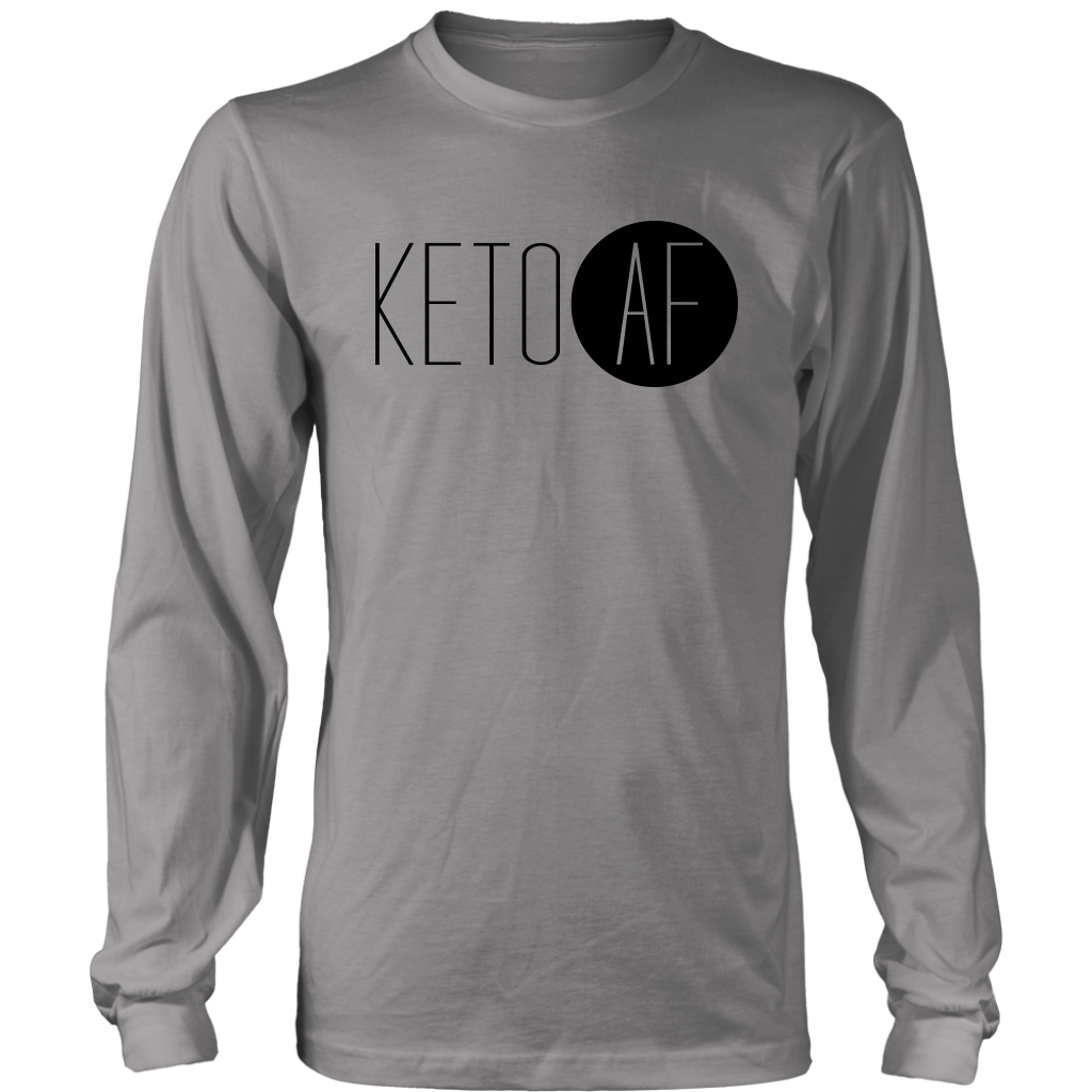 Keto AF - Long Sleeve Shirt